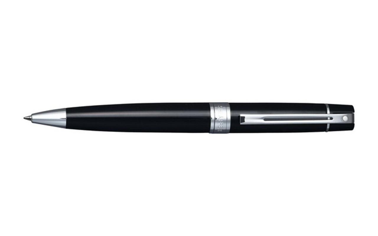 Sheaffer 300 Glossy Black Ballpoint Pen