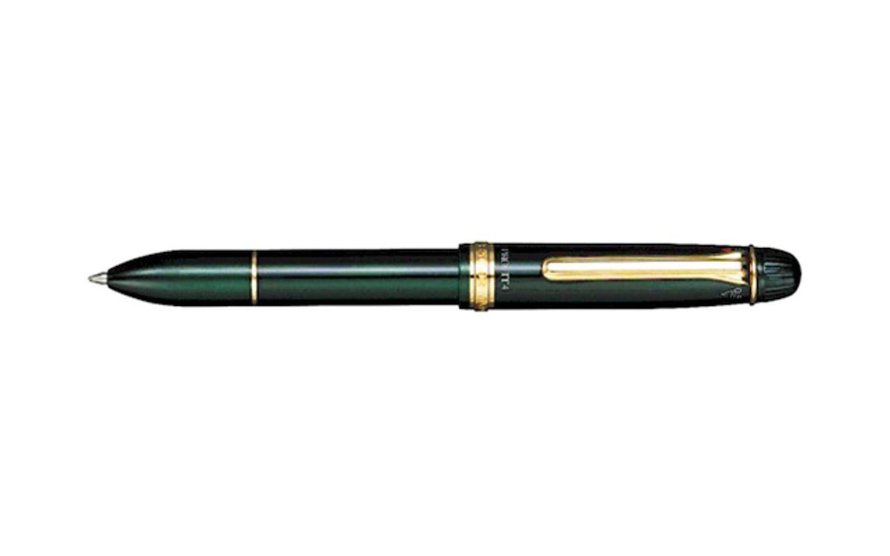 Sailor 1911 Multi 4 3 Color Ballpoint Pen and Pencil 0.5mm Green Multipen