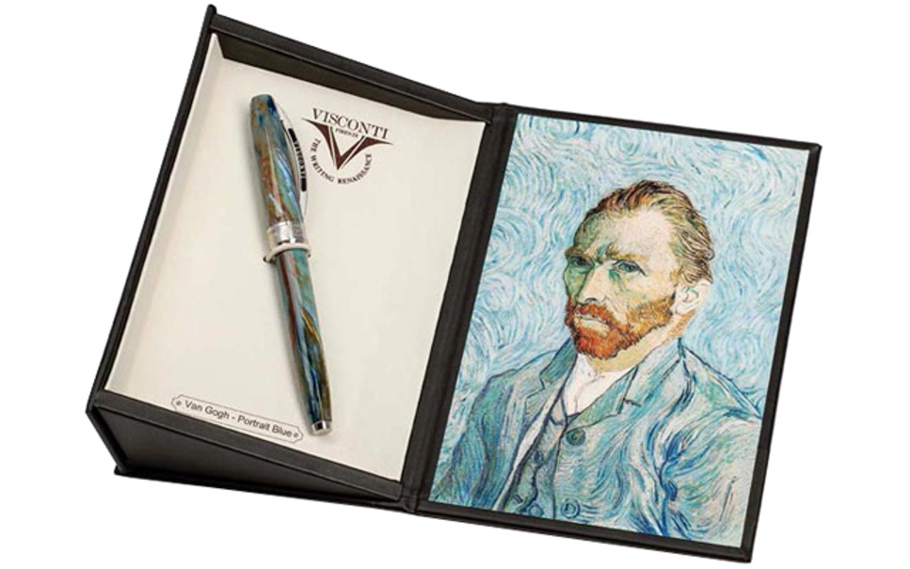 Visconti Van Gogh 2012 Potrait Blue Fountain Pen