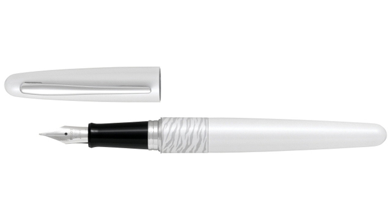 Pilot MR Animal Collection White Tiger Fountain Pen