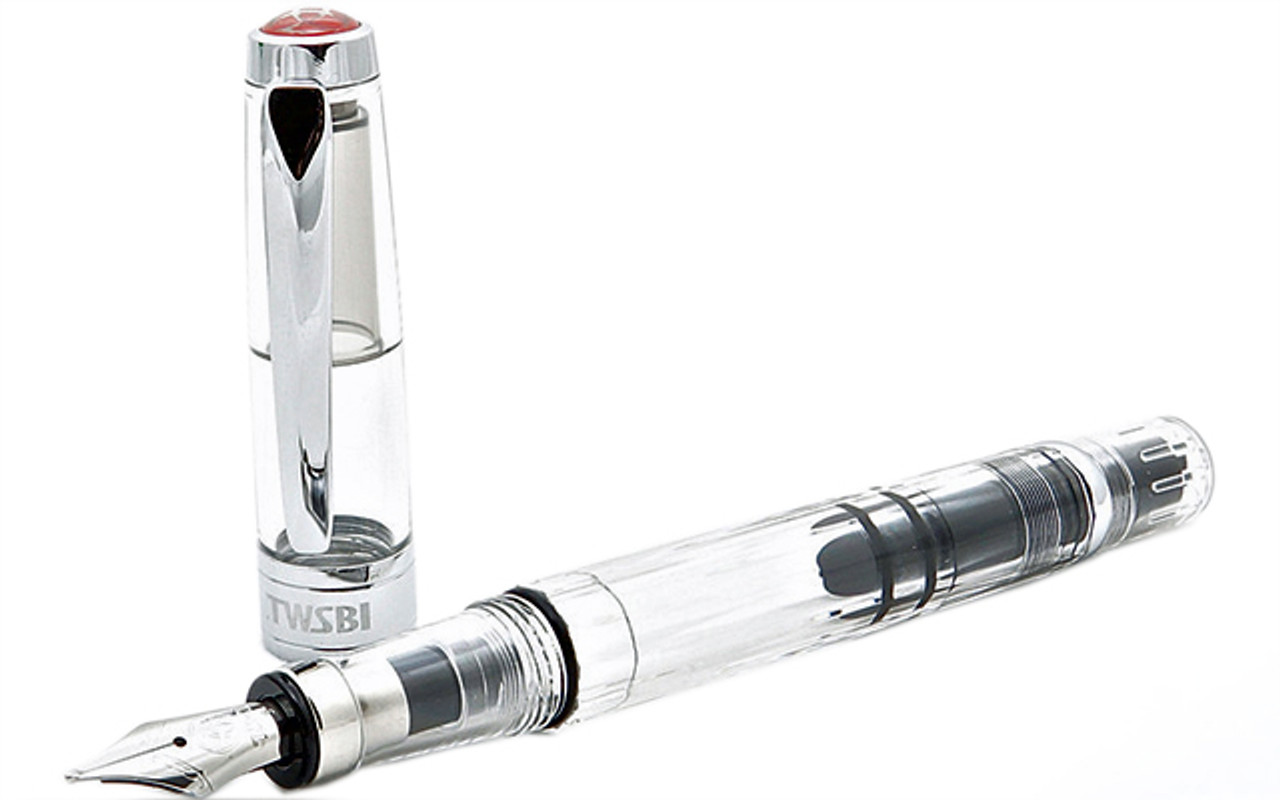 TWSBI Diamond 580 Clear Fountain Pen