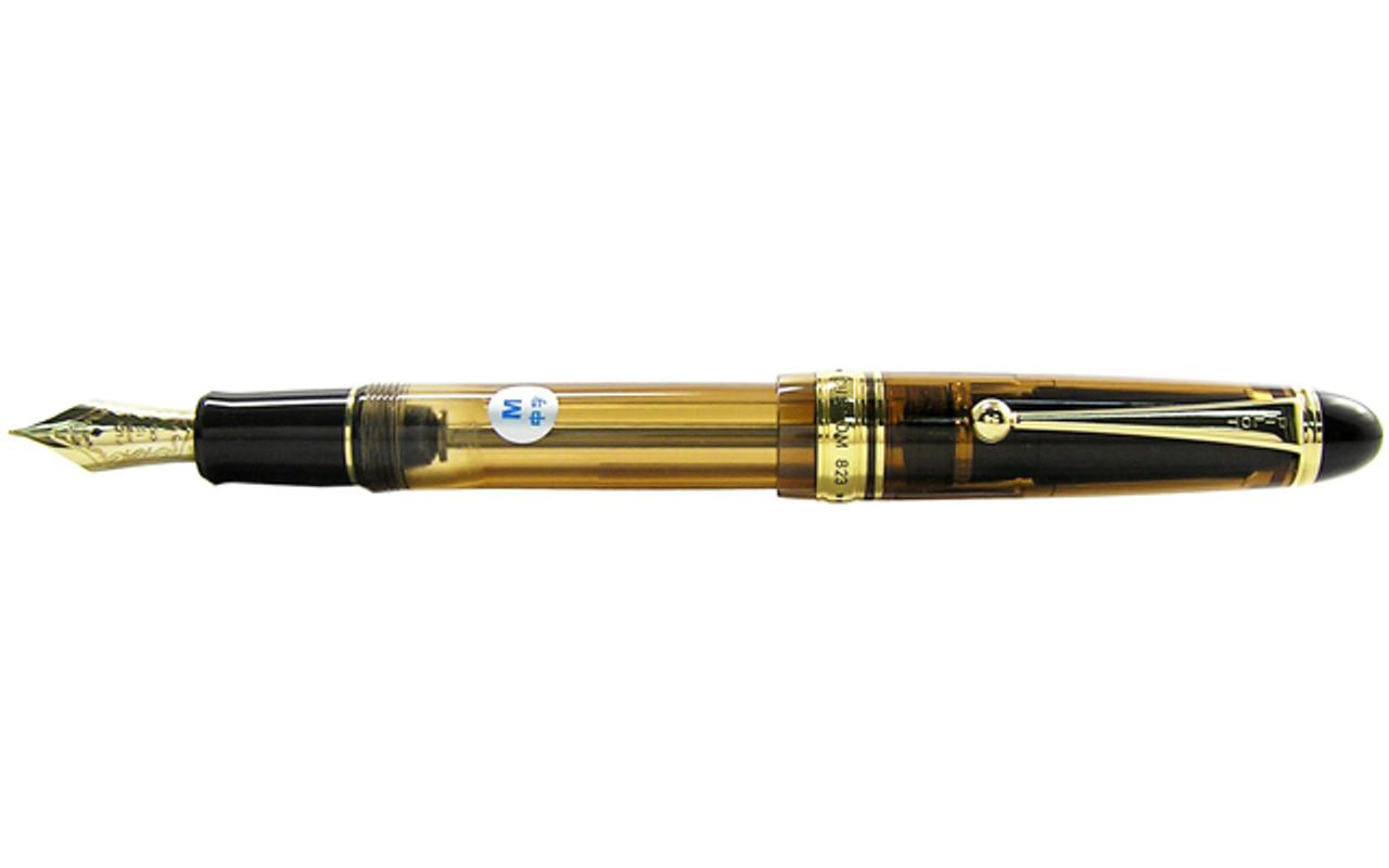 Pilot Custom 823 Amber Demonstrator Fountain Pen