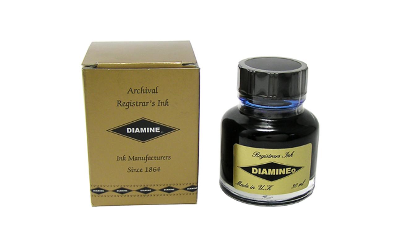 Diamine Fountain Pen 30ml Registrars Bottle Ink