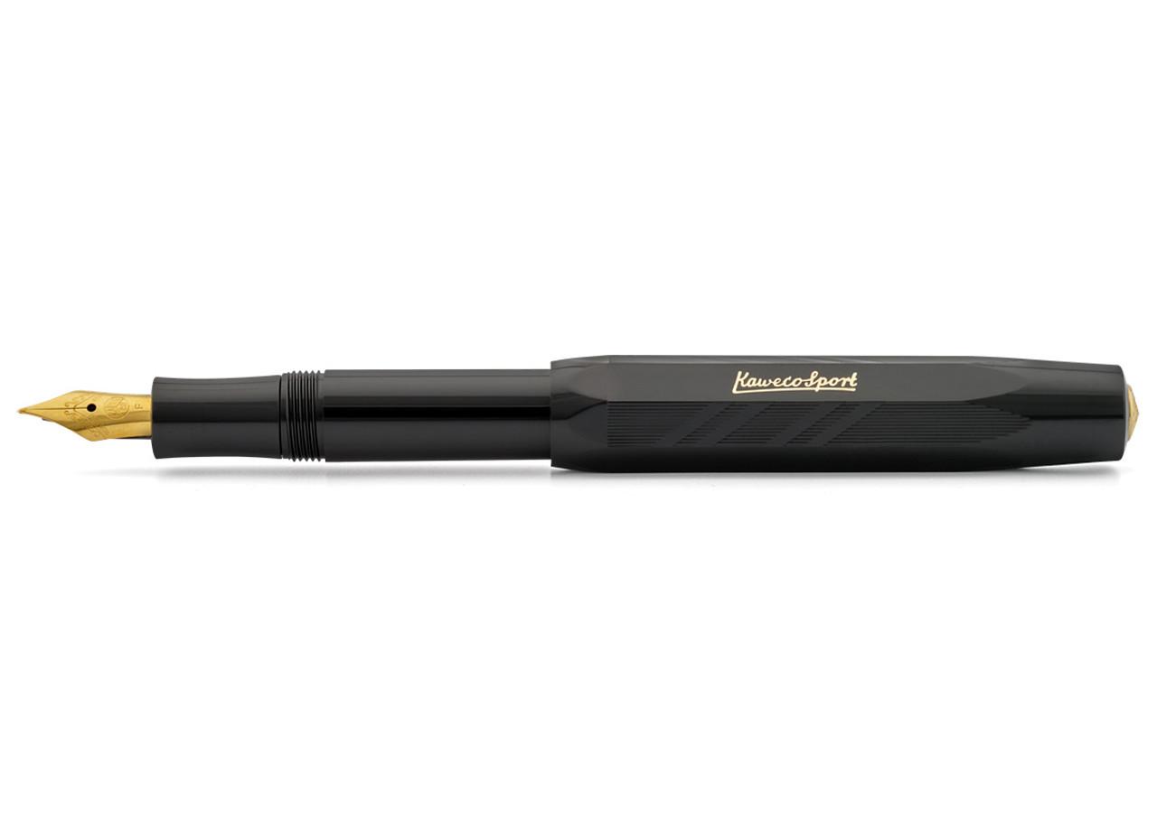 Kaweco Classic Sport Guilloche Black Fountain Pen