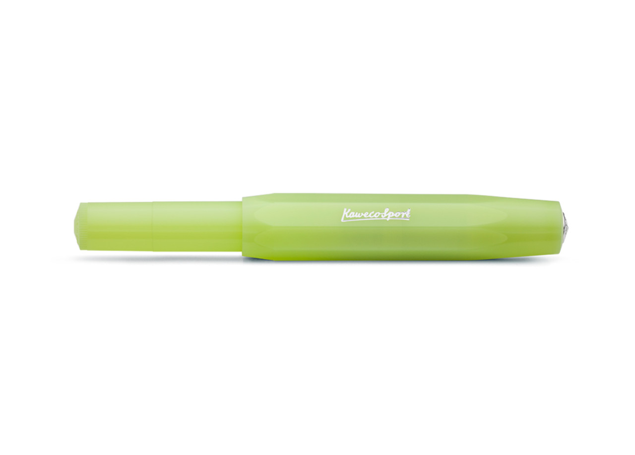 Kaweco Frosted Sport Fine Lime Fountain Pen