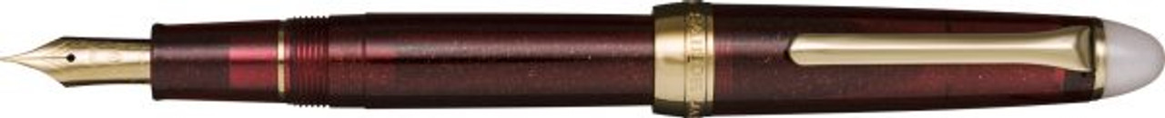 Sailor Shikiori Tsuyuko no Yodaki Maroon Fountain Pen Fine Nib