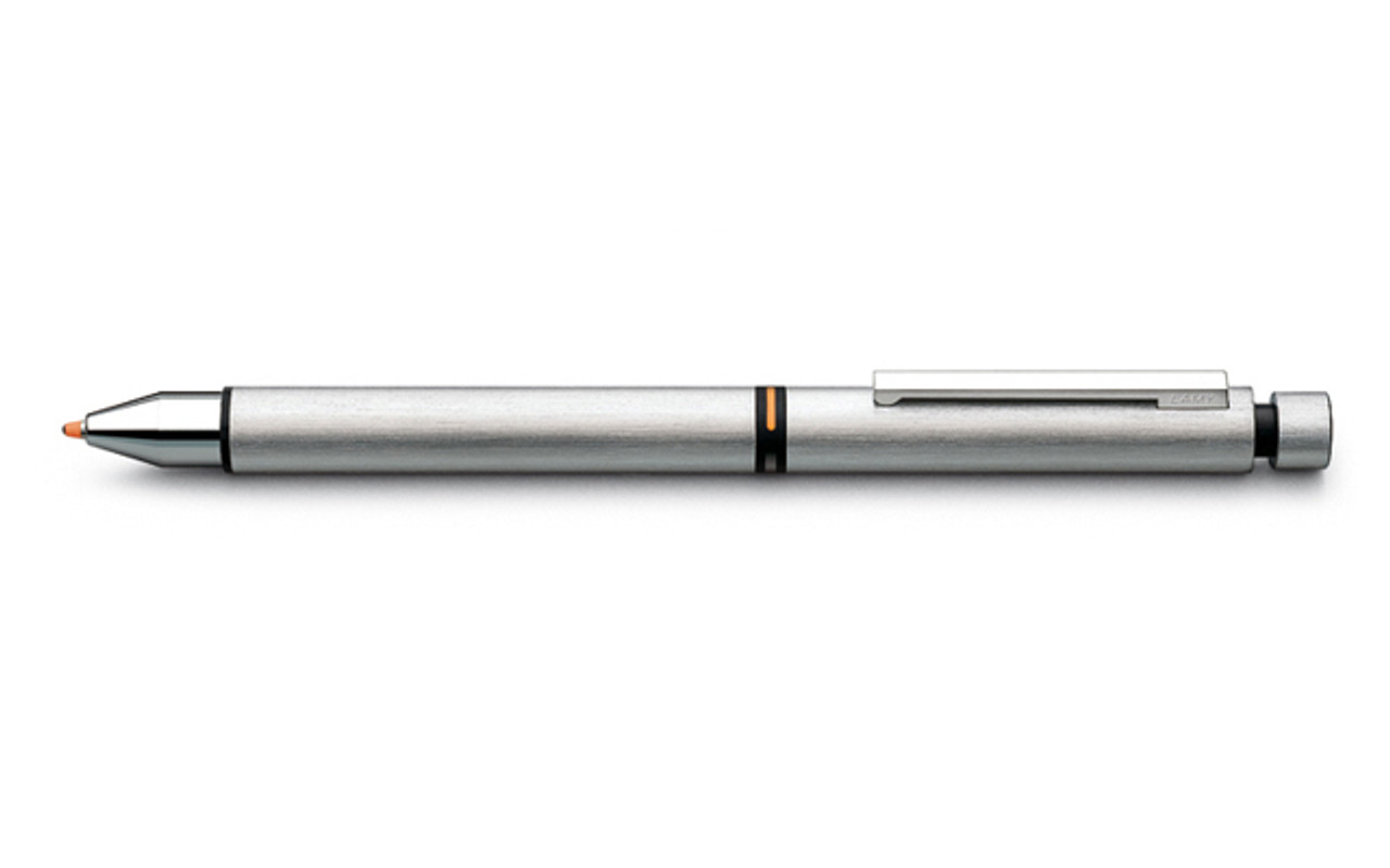 Lamy CP 1 Tri Brushed Stainless Steel Multipen