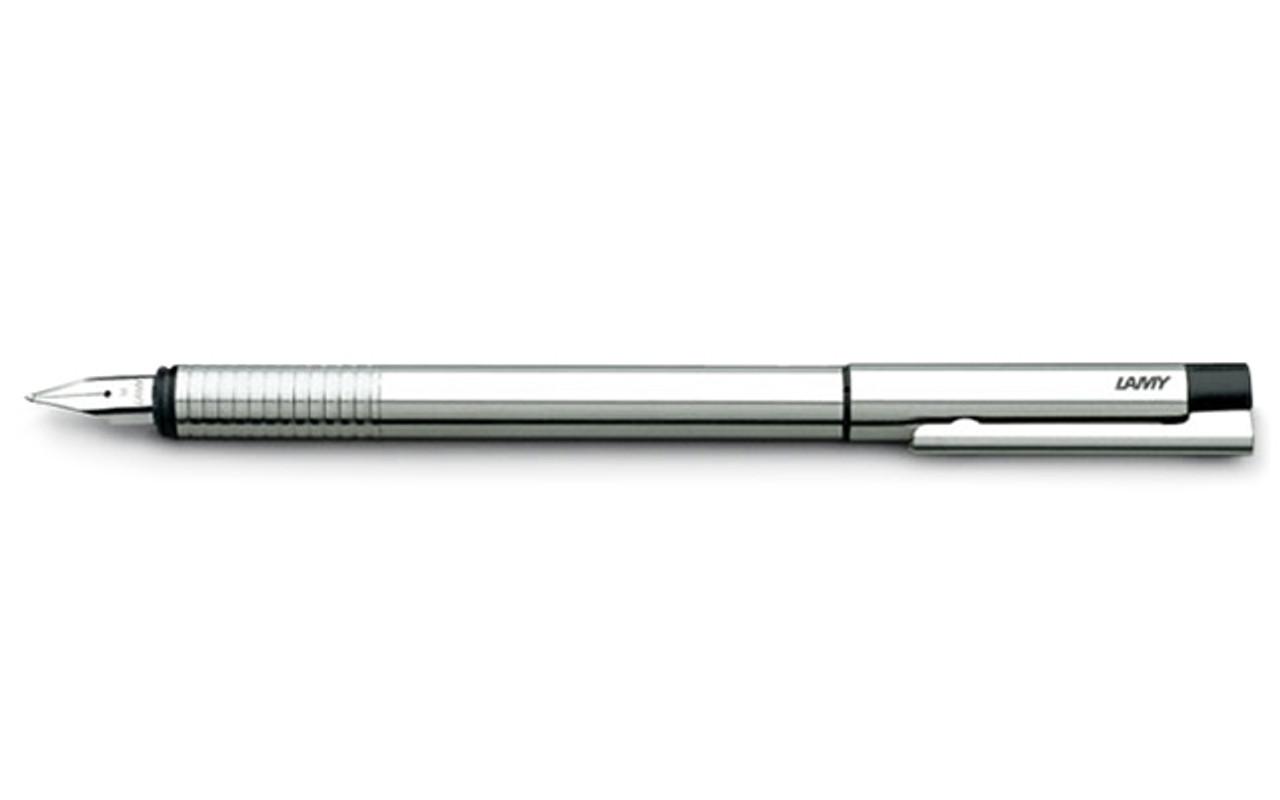 Lamy Logo Cyclical Matt Stainless Steel Fountain Pen