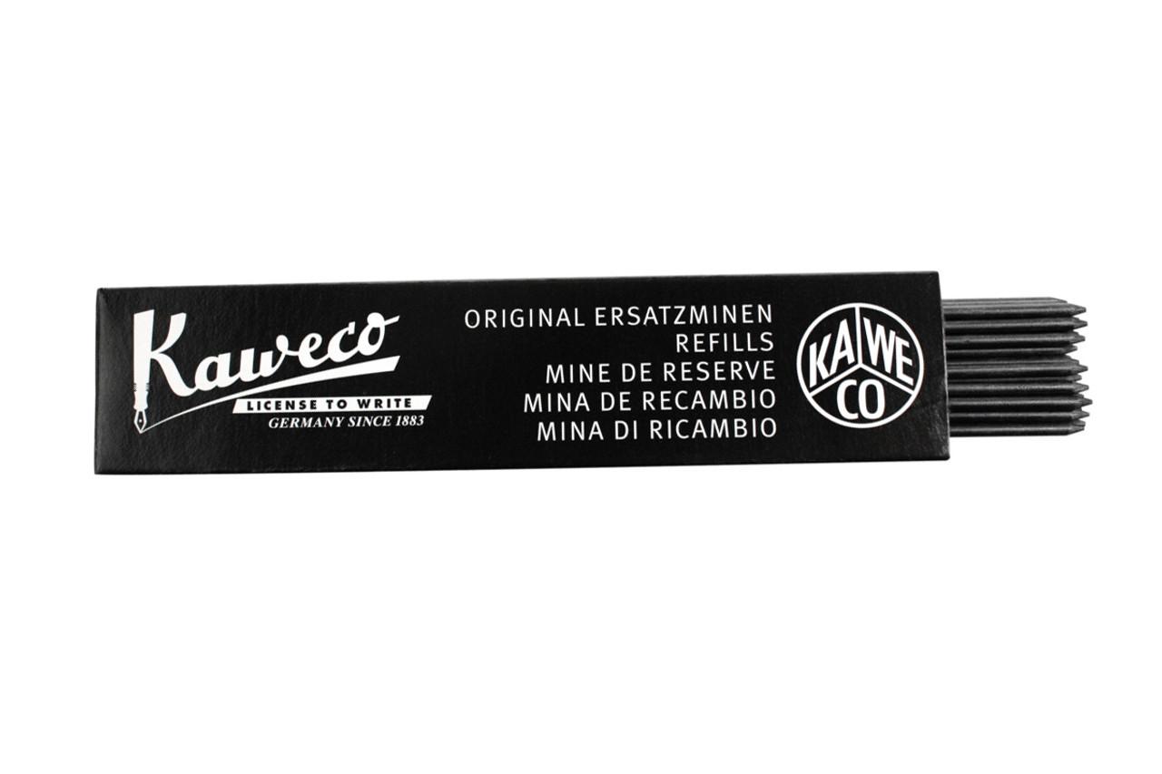 Kaweco Pencil Leads Black 2.0mm HB 24 Pieces Set