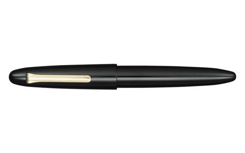Sailor King Of Pen Black Ebonite Fountain Pen Medium Nib