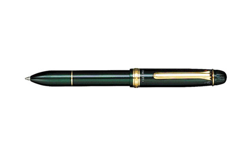 Sailor 1911 Multi 4 3 Color Ballpoint Pen and Pencil 0.5mm Green Multipen