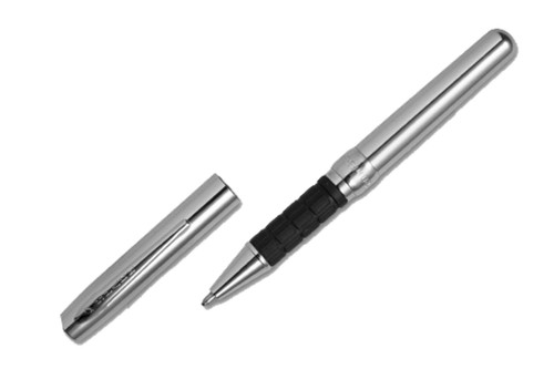 Fisher Space Pen Chrome Plated Executive Style With Comfort Grip Ballpoint Pen