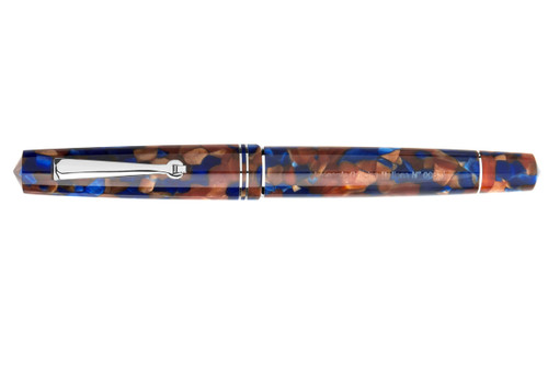 Leonardo Officina Italiana Momento Zero Pietra Marina Resin Fountain Pen