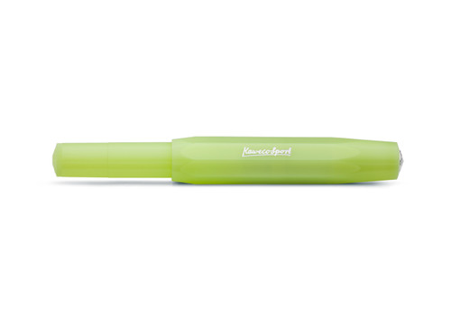 Kaweco Frosted Sport Fine Lime Rollerball Pen