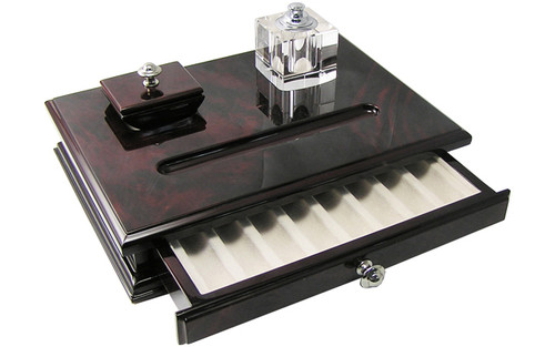Laban Desk Set With Ink Blotter and Ink Well