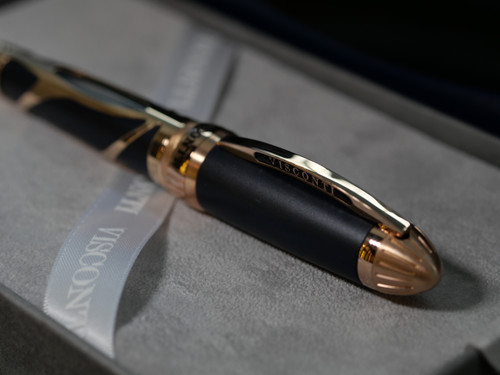 Visconti Torpedo Blue Rose Gold Limited Edition Fountain Pen