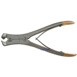 Cannulated Pin & Wire Cutter Double Action Cutting Blades with TC Inserts