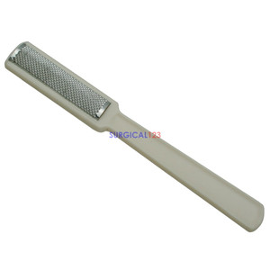 Callus Remover Straight Plastic Handle