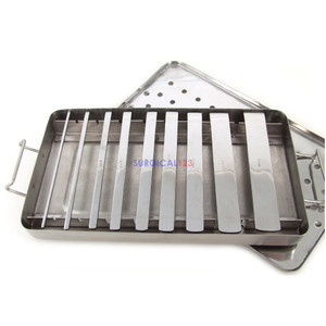 Swiss Pattern Osteotomes Set of 9 with Tray