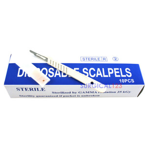 Disposable Scalpels #15 Sterile Pack of 10