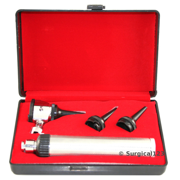 Otoscope Set with Battery Handle