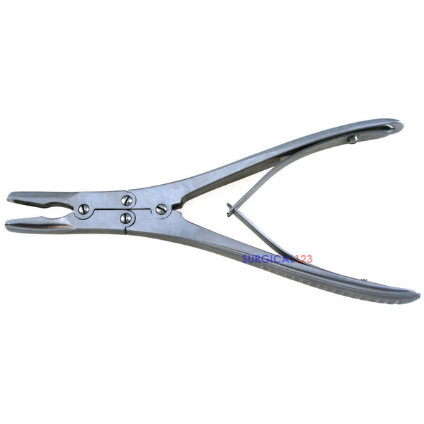 Ruskin Rongeur Curved, surgical dental instruments, orthopedic instruments, podiatry instruments, bone rongeur