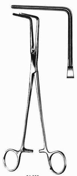 Lee Right Angle Bronchus Vascular Clamp | Miltex Surgical Instruments