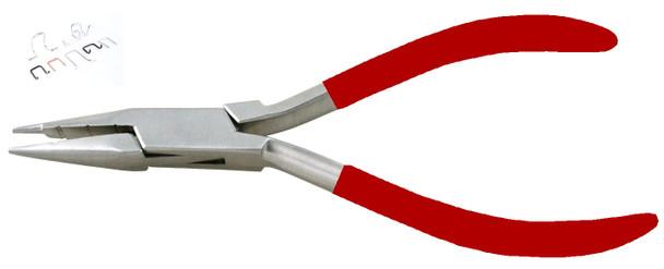 Metal Forming Bending Plier Red Vinyl Grip