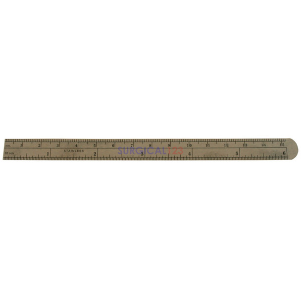Flexible Stainless Ruler Scale 6 Inch