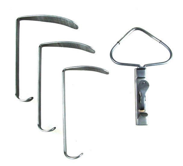 McIvor Mouth Gag Complete Set with 3 Blades