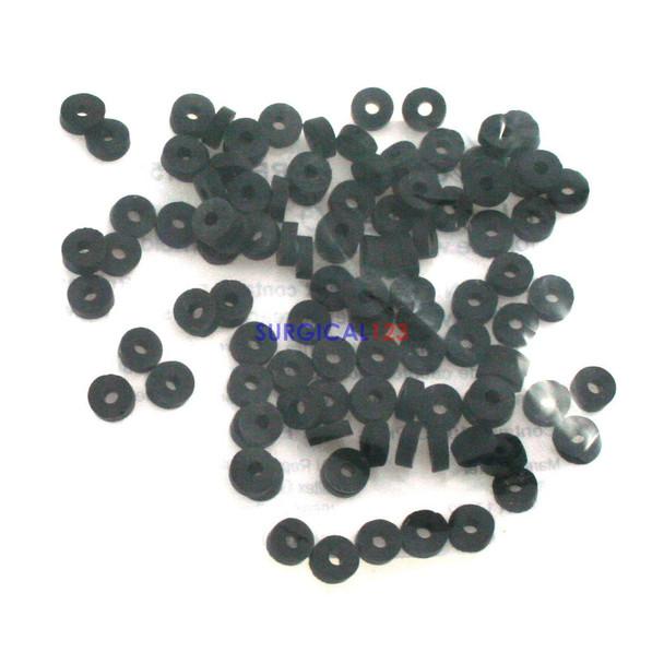 Latex O-Rings Pack of 100 Hemorrhoid Rubber Bands, Hemorrhoidal banding