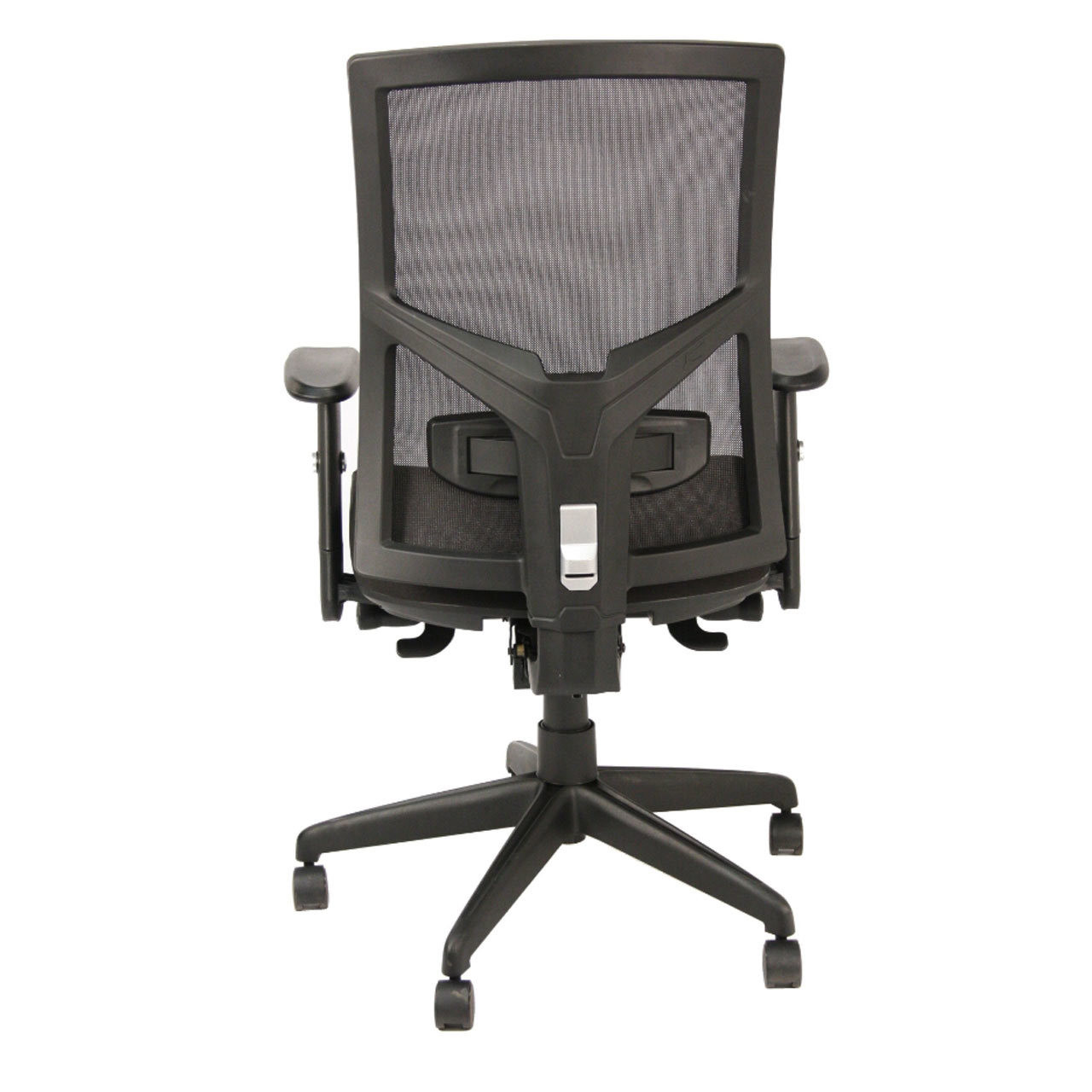 Heavy Duty High-Back Mesh Task Chair With Upholstered Stylish Seat