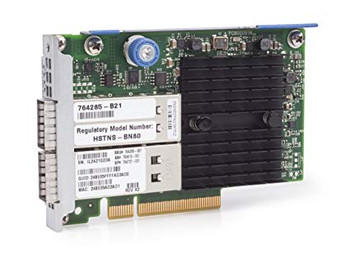 HPE InfiniBand FDR/Ethernet 10Gb/40Gb 2-port 544+FLR-QSFP Adapter - 764285-B21 (Renewed)
