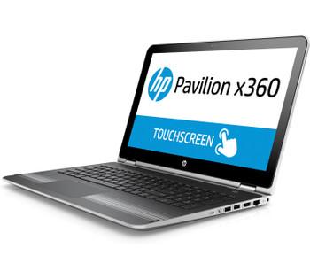 HP Pavilion x360 - X7U19UA, 15-bk163dx, Touchscreen, 1 TB, Bang & Olufsen, Intel Core i3-7100U@2.4 GHz, Windows 10 (Certified Refurbished)