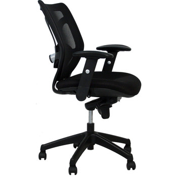 High-Back Mesh Multi-Functional Task Chair Black BIFMA