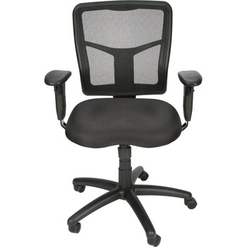 Black Mesh Back Synchro-Tilt Task Chair