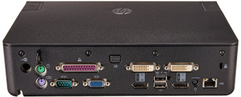 HP 120W Advanced Docking Station Docking Station A7E36UT#ABA (Renewed)