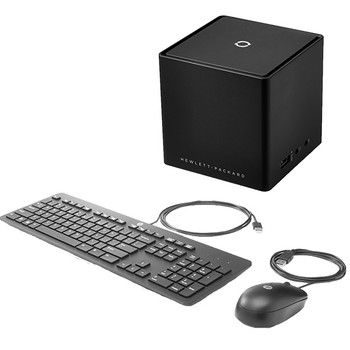 HP Advanced Wireless Docking Station and HP Slim Keyboard USB Bundle (Renewed)