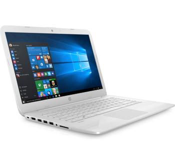 HP Stream - X9F40UA, 14-ax040ca, 32 GB, 4 GB RAM, Intel Celeron, Bluetooth, Windows 10 (Renewed)