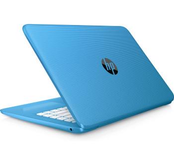 HP Stream - 14-cb106ca, Intel Celeron@1.1 GHz, 4 GB DDR4 RAM, 32GB, Windows 10 (Renewed)
