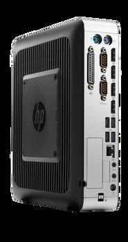 HP t730 Thin Client P5V89UA AMD RX-427BB@2.7 GHz 4GB RAM 16GB M2 SSD ThinPro OS (Renewed)