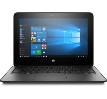 HP PROBOOK X360 11 G2 EE , INTEL Celeron@1.1GHz, 4GB DDR3, 128GB M2 SSD, WINDOWS 10, in Black (Scuffs/Scratches)