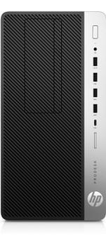 HP ProDesk 600 G3 Microtower PC, Intel Core i5@3.4 GHz, 4 GB DDR4 RAM, Windows 10 (Renewed)