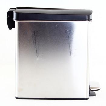 Simplehuman 10 Liter 2.6 Gallon Bathroom Slim Trash Can Used (Renewed)