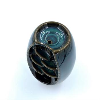SPACEKEEPER Ceramic Backflow Incense Holder Waterfall Burner SPKIH001