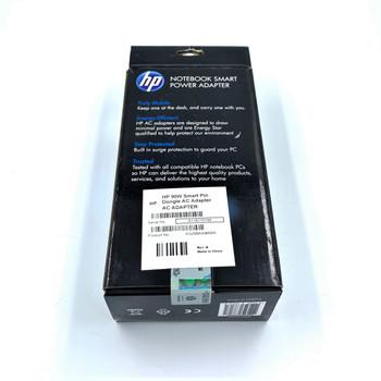 Hewlett Packard 90w Smart Pin Ac Adapter with Dongle External (Renewed)