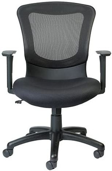 Eurotech Seating Marlin Fabric Task Chair, Black