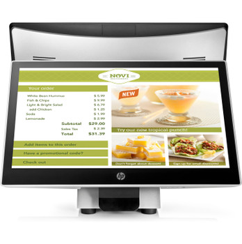 HP L7014t 14-inch Retail Touch Monitor T6N32A8 (Renewed)