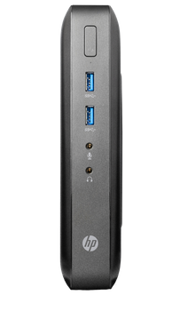 HP t520 Flexible Thin Client - AMD GX-212JC @ 1.2GHZ - 4GB RAM - 8GB SSD (Renewed)