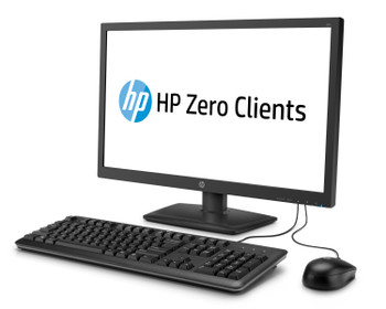 HP t310 All-in-One Zero Client, 23.6 in, DDR3 RAM, No OS (Renewed)